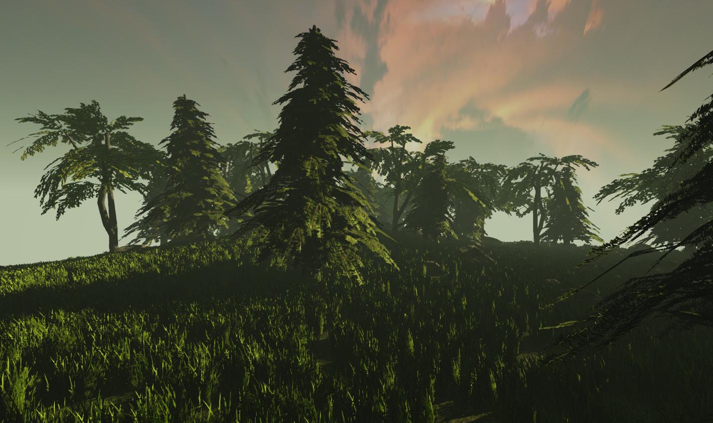 UDK Foliage