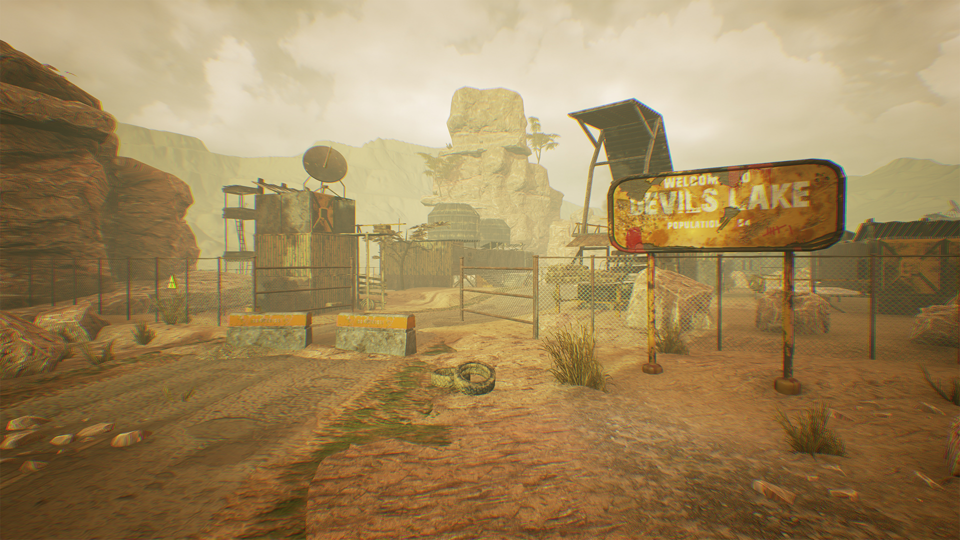 Desert Camp /// Unreal Engine