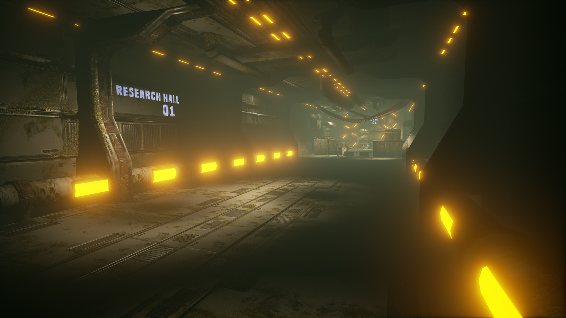 modular tunnel / Unreal Engine