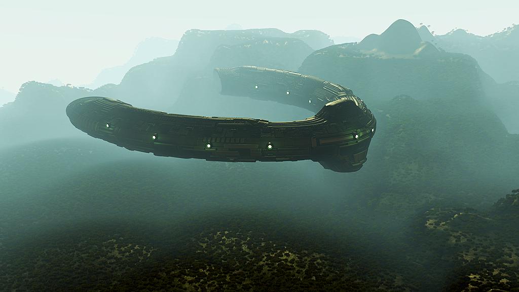 Prometheus Ship / UV Sculpting