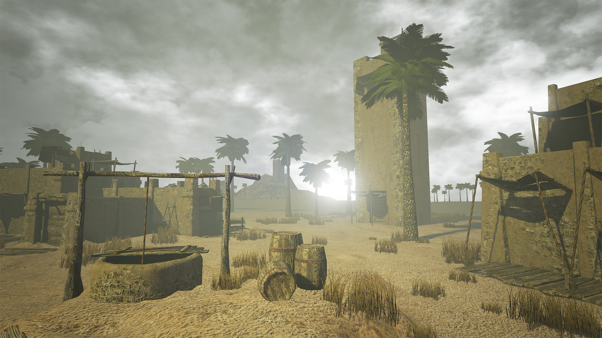 Desert city / Unreal Engine