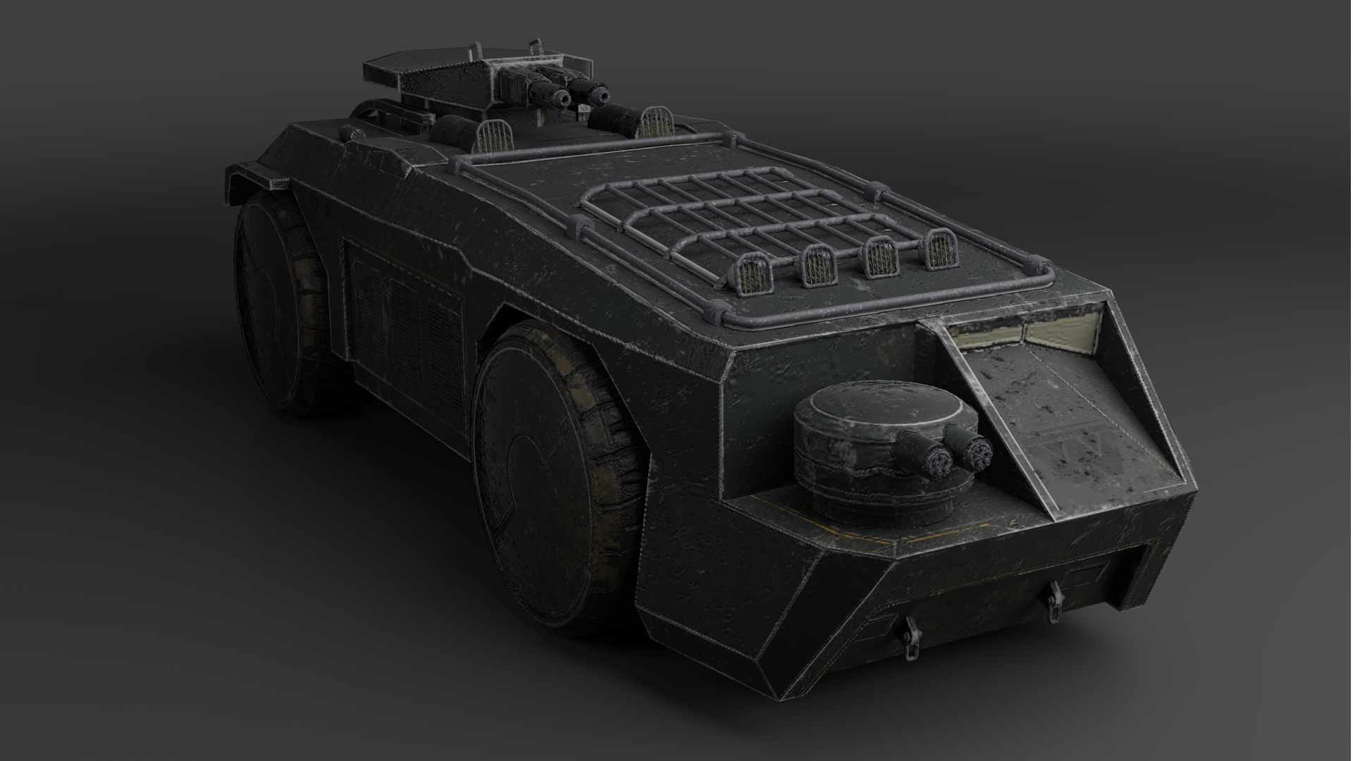 Vehicle Alien II Fanart M577APC